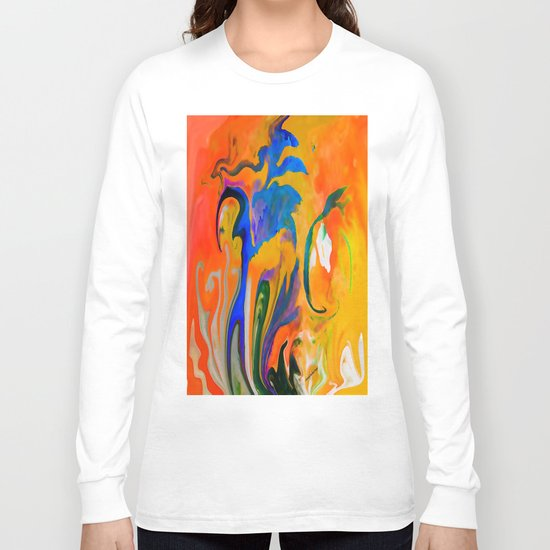 A TIME AND A PLACE FOR EVERYTHING ...ABSTRACT Long Sleeve T-shirt