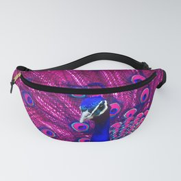 Peacock Pink 85 Fanny Pack