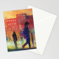 Street scene Stationery Cards