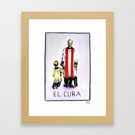 El Cura Framed Art Print