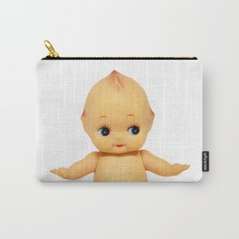 Cute little naked baby doll. Carry-All Pouch