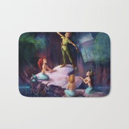 The Mermaid Lagoon-Peter Pan Bath Mat