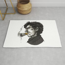 London Smoking Habit Rug