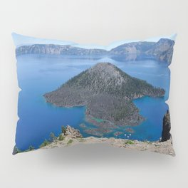 Crater Lake Volcanic Crater Oregon USA Pillow Sham