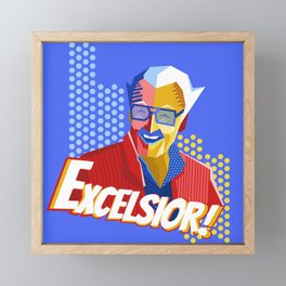 Stan Lee Framed Mini Art Print