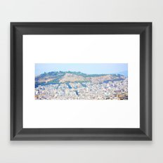 Athens and me Framed Art Print