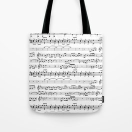 Musical Tote Bag