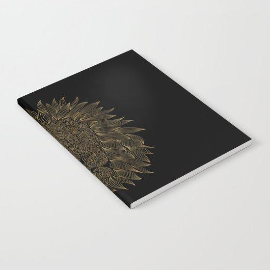 lion / black Notebook