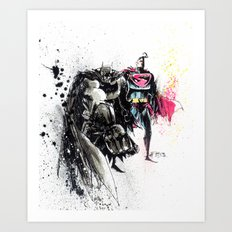 WORLD'S FINEST  Art Print