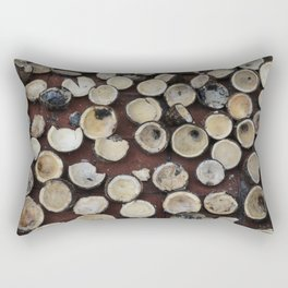 crazy coconuts Rectangular Pillow