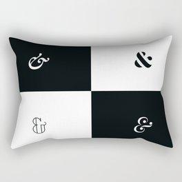 For the Love of Ampersand #1 Rectangular Pillow