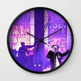 Waiting For The Night To Fall. Wall Clock