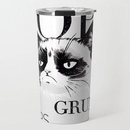 Grumpy the cat Travel Mug