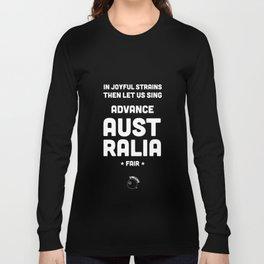 Australia Rugby Union national anthem — Advance Australia Fair Long Sleeve T-shirt