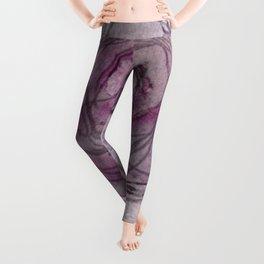 Rose - Abstract Watercolour Leggings