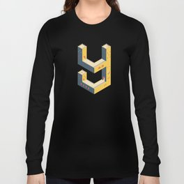 castle in the 'Y' Long Sleeve T-shirt