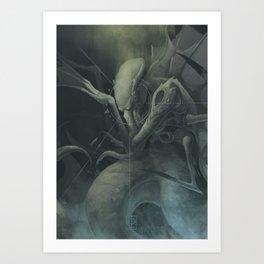 Cthulhu´s Dream Art Print