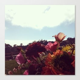 Florals at ventana Canvas Print