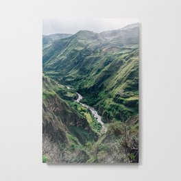 Drop Off (Colombia) Metal Print
