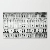 broad city Canvas Prints featuring BROAD STREET. by Kieran Loftus