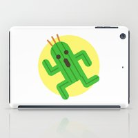 final fantasy iPad Cases featuring Final Fantasy - Cactuar by Versiris