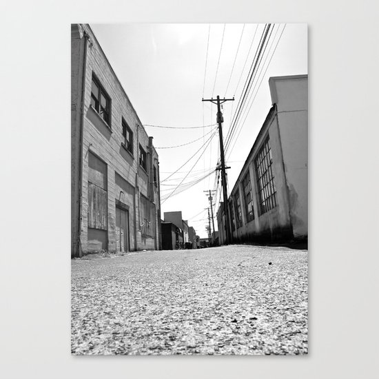 South Tacoma Alley Canvas Print
