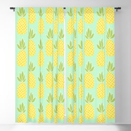 Pineapples Blackout Curtain