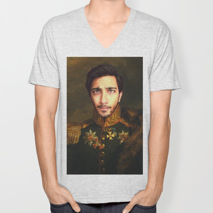 His Infernal Majesty Unisex V-Neck