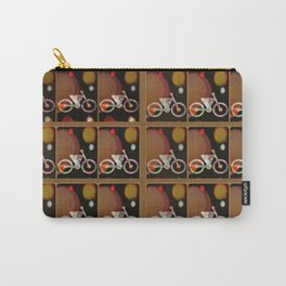 Bicycle Brown Derby Carry-All Pouch
