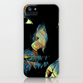 Playing With Shadows III iPhone Case