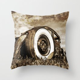 The Pixeleye - Special Edition Hot Rod Series II Throw Pillow