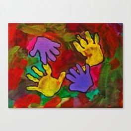 Loving Hands Canvas Print
