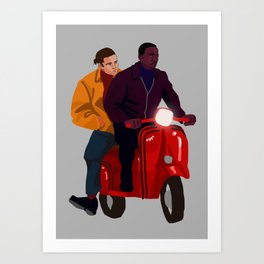 Team Work Art Print