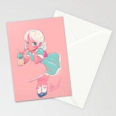 sassy doll Stationery Cards