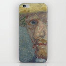 Portrait of Theo van Gogh iPhone Skin