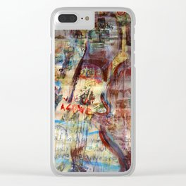 Headline News Clear iPhone Case