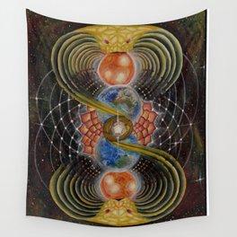 Solar Prayer Wall Tapestry