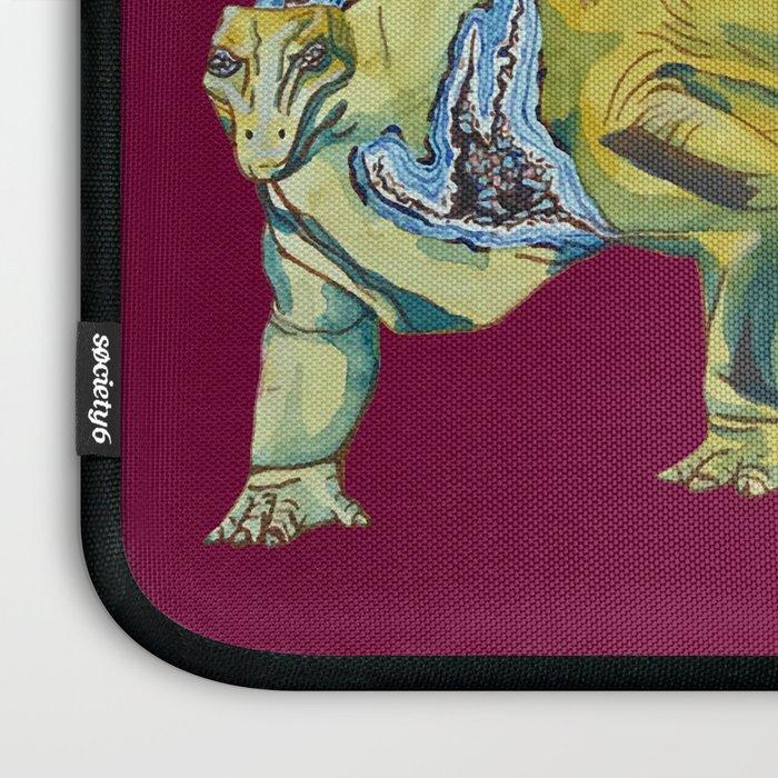 Stegosaurus Geode Laptop Sleeve