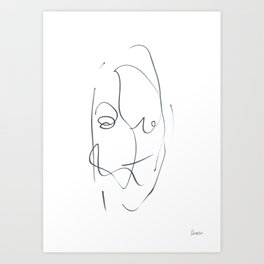 Demeter Moji d9 5-1 w Art Print