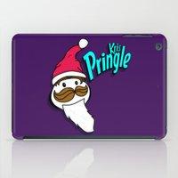 kris tate iPad Cases featuring Kris Pringle by Chelsea Herrick