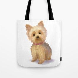 Yorkie Dog Tote Bag