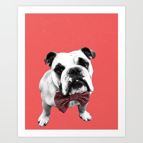 Red Bowser Art Print