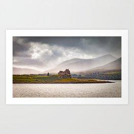 Duart Castle, Mull Art Print