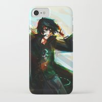 viria iPhone & iPod Cases featuring Nico di Angelo by viria