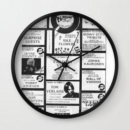wall oF voOdoo Wall Clock