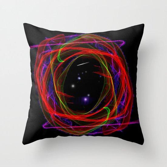 Vacancy / Portal Throw Pillow