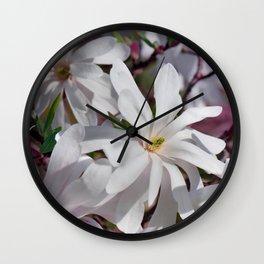 Magnolia 2 Wall Clock