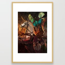Jesse Cox - The Great Space Butterfly Framed Art Print