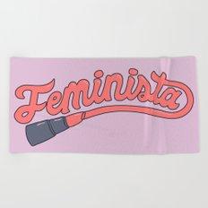 Feminista Beach Towel