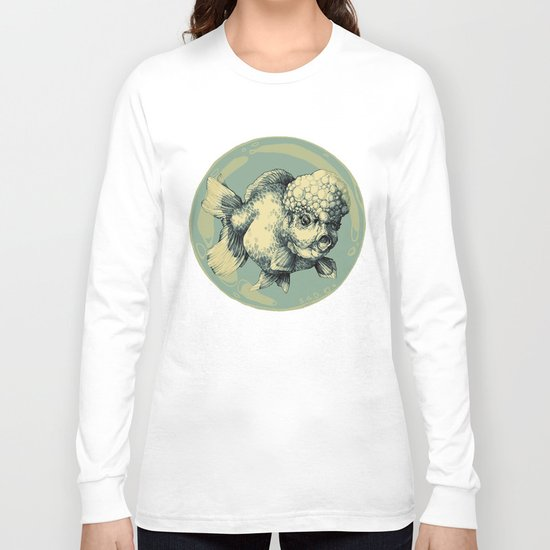 Bubble Head Fish Long Sleeve T-shirt